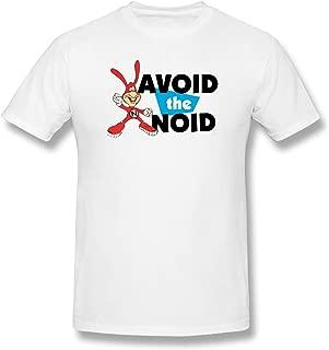 Avoid The Noid Men's Print T Shirts Fashion Short Sleeve