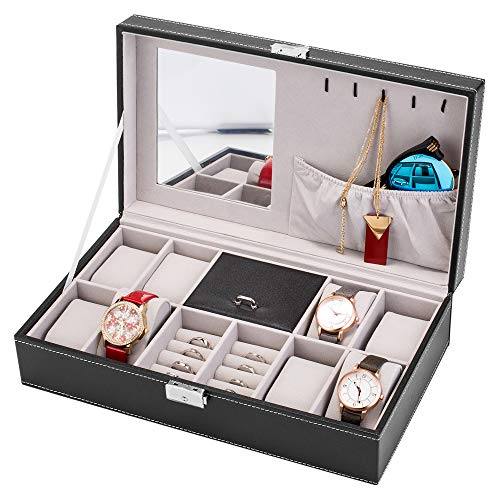 Watch & Jewelry Lockable Organizer for Men / Women