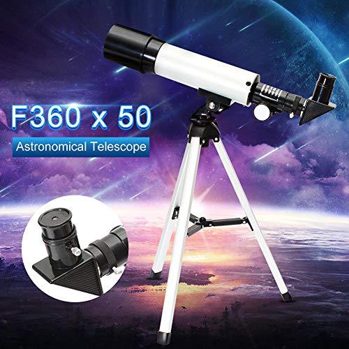 GKD Telescopio Monocular Astronómico HD Profesional con El Trípode Refractor Catalejo Zoom De Alta Potencia Telescopios Potente