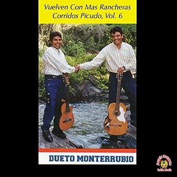 Vuelven Con Mas Rancheras Corridos Picudos, Vol. 6