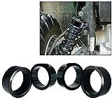 2.5' or 2' Inch Lift Spacer Kit For Honda Rancher Recon 230 250 300 350 400 420 ATV Suspension Lift Spacer Kit (Black, 2.5 Inch)