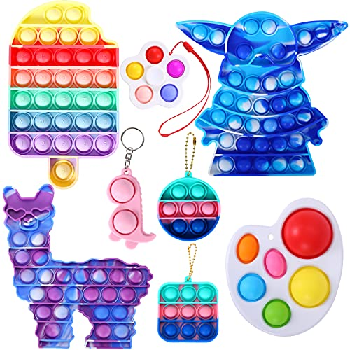 SAEUYVB Fidget Sensory Toy,Push Fidget Toy for Kids,Squeeze Sensory Toy Autism Special Needs Stress...