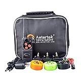Aetertek 216犬ペットEカラーショックカラーコントロール充電式電子金庫リモートドッグトレーニング7レベルの衝撃+振動+ビープ音3匹の犬