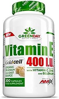 Amix Greenday Vitamin E 400 I.U. 200 Caps 0.4 400 g