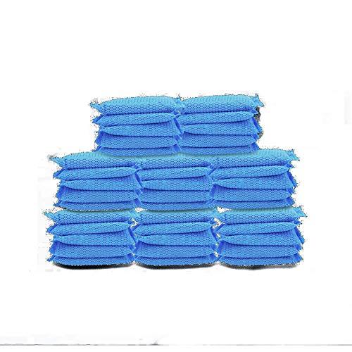 xycdy Saco De Tratamiento De Aire De Carbón De Madera Bambú Natural, Ambientador Bolsa De Ambientador De Bambú De Carbón De Madera para La Casa Mesillas Frigoríficos-Congeladores