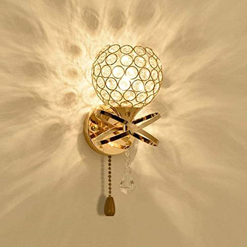 Lustre éclairage De Lampe De Chambre à Coucher_Lit Avec Interrupteur à Tirer Lampe De Chevet à Corde