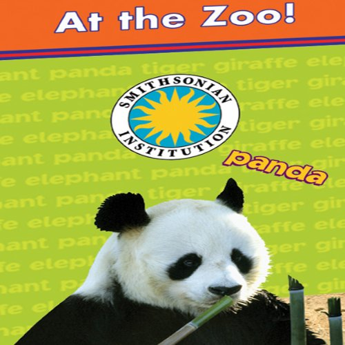 At the Zoo! (Giraffe, Panda, Tiger, Elephant) audiobook cover art