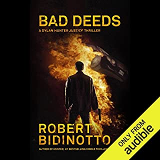 Bad Deeds audiobook cover art