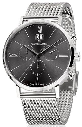 Maurice Lacroix Eliros EL1088-SS002-810-1 Cronografo uomo Data in grande