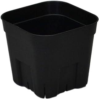 【丈夫で長持ち硬質ポット】 プレステラ 105型 10ヶ組 ブラック