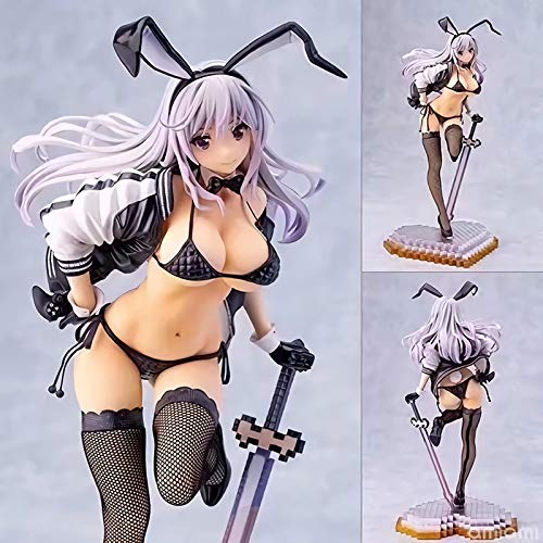 Jin Chuang Skytube Girls Zimakupiza by Saitom Rabbit Ears Anime Sexy Girls 36cm 0.72KG Action Figure Collectible Model Toys for Gift