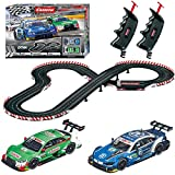 Carrera Evolution 20025237 DTM Ready to Roar Analog Electric 1: 32 Scale Slot Car Racing Track Set - Includes Two 1: 32 Scale Cars & Two Dual-Speed Controllers Ages 8+