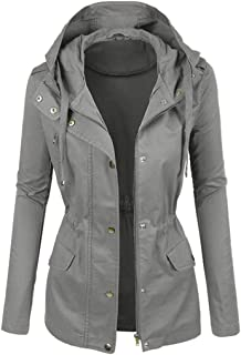 Women Biker Jacket Faux Leather Jacket Hooded Motorcycle Jacket PU Leather Jacket Short Zipper Jacket Fall Winter