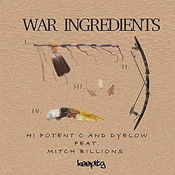 War Ingredients (feat. Mitch Billions)