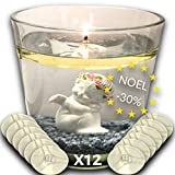 Eco Candle Flotante Vela Eterna 100% Invisible - Reutilizable de por vida - Ilumina su dec...