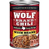 Wolf Brand Chili with Beans, Packed with Protein, 15 Ounce