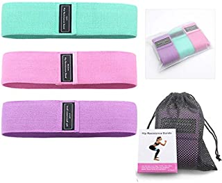 N/X Resistance Loop Bands, Resistance Exercise Bands for Home Fitness, Stretching, Strength Training, Physical Therapy, Wo...