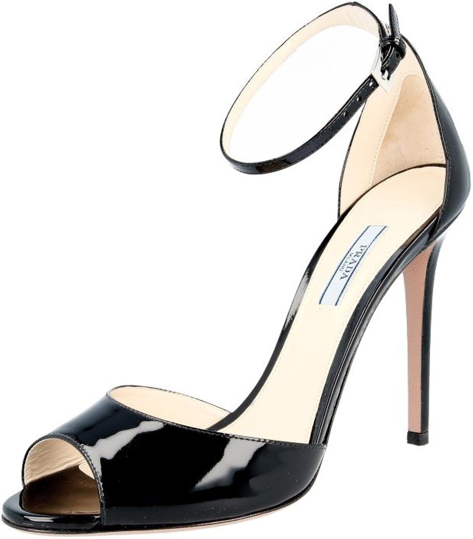 Prada Women's 1K937F XUW F0002 Leather Pumps Heels