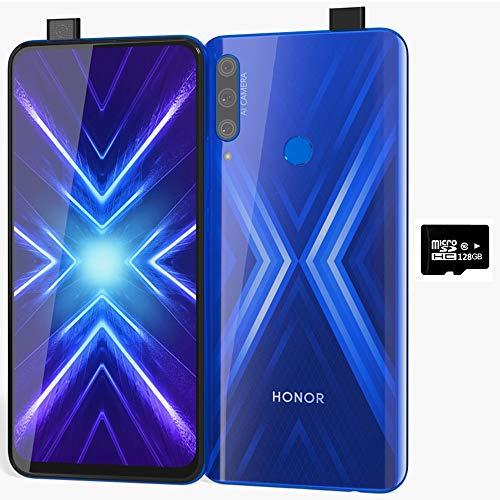 Honor 9X w/Play Store (128GB, 6GB) 6.59', 3 AI Cameras,...