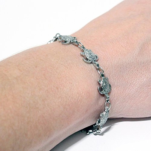 Magnetic Therapy Bracelet with Turtles