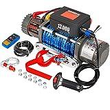 Tornos de remolque 1300 0LBS Winch eléctrico 12V...