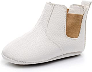 Girls Boys Ankle Boots Toddler Moccasin Soft Soled Anti-Slip Baby Shoes