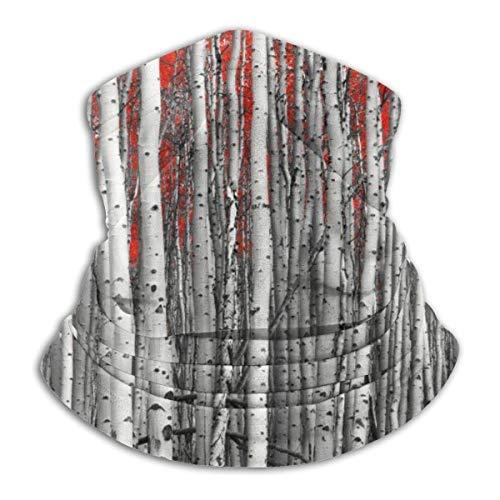 Mathillda halsdoek met wilde bomen en toverbos natuur - multifunctionele doek