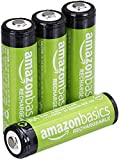 Amazon Basics Ni-MH Pre-Charged Rechargeable Batteries, 1000 Cycle