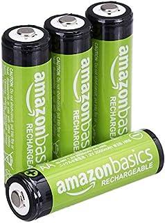 AmazonBasics - Batterie AA ricaricabili, pre-caricate, confezione da 4 (l'aspetto potrebbe variare dall'immagine) (B00CWNMR5Y) | Amazon price tracker / tracking, Amazon price history charts, Amazon price watches, Amazon price drop alerts