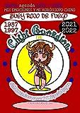 CHIBI AGENDA 2021 - 2022 MIS EMOCIONES Y MI HORÓSCOPO CHINO (BUEY ROJO DE FUEGO - 1937, 1997) 300 páginas. Vista mensual y tareas. Con dibujos para colorear. (Chibi Guardians)