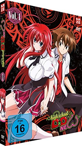 Highschool DxD: New - Staffel 2 - Vol.1 - [DVD]