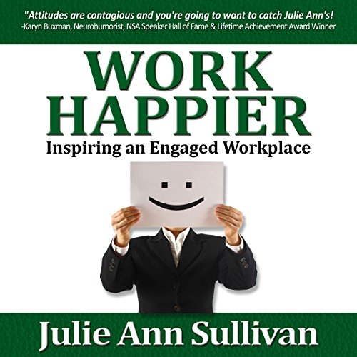 Work Happier audiobook cover art