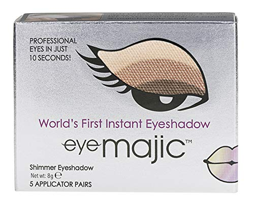 Eye Majic - Instant-Lidschatten - leichtes, professionelles Make-up in 10 Sekunden - 5 Paar - Crème...