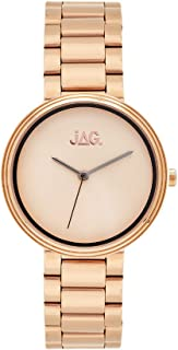 JAG Women's J2092A Year-Round Analog Quartz Rose Gold Watch