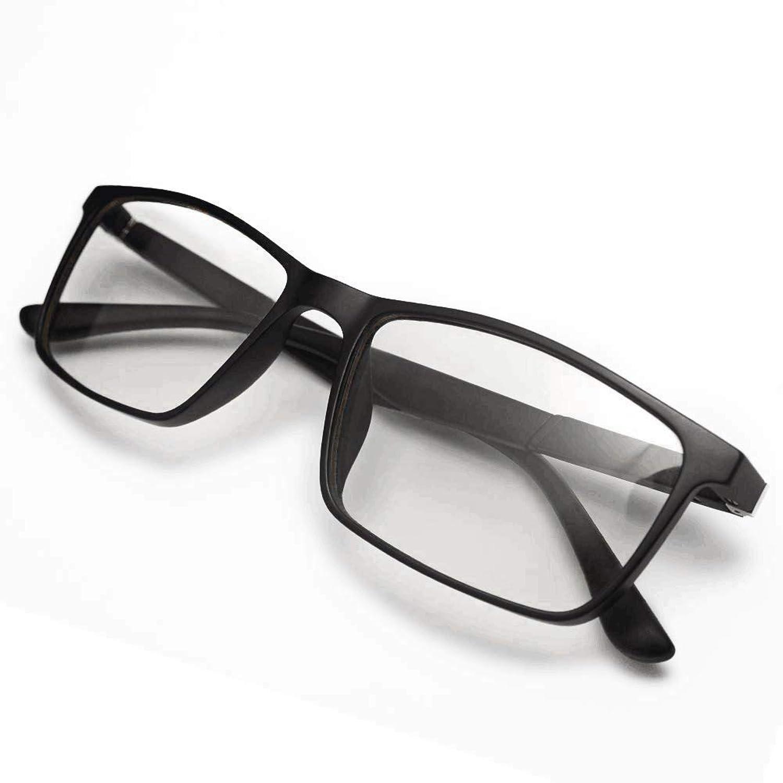 WENDU Blue Light Blocking Glasses,Computer Glasses for Blocking UV Headache [Anti Eyestrain] 0.0 Magnification - Anti Blue Light 100% Transparent Lens Gaming Glasses, Unisex (Men/Women)-Black