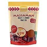 Thai Taste Massaman Pasta De Curry Rojo (200g) (Paquete de 2)