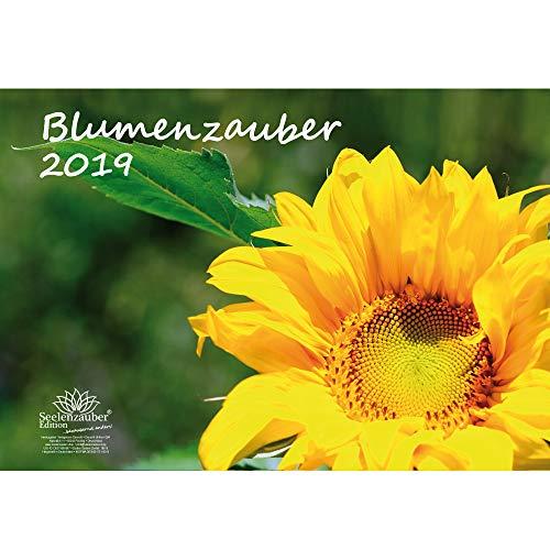 Blumenzauber · DIN A3 · Premium Kalender 2019 · Blumenstrauß · Rose · Valentinstag · Blume · Schmetterling · Natur · Garten · Blüte · Farbe · Botanik · Edition Seelenzauber