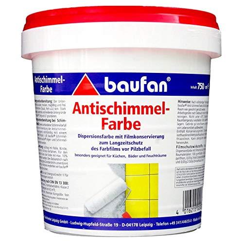Baufan Antischimmelfarbe Anti-Schimmelfarbe 750ml