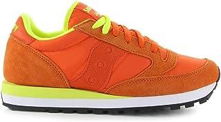 Saucony Men's 2044265 Orange Suede Sneakers