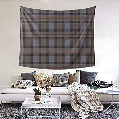 Fraser Hunting Tartan Plaid Outlander Tapestry Wall Hanging Wall Decor Home Decor Beach Blanket Indian for Bedroom Dorm Home 60x51 Inch