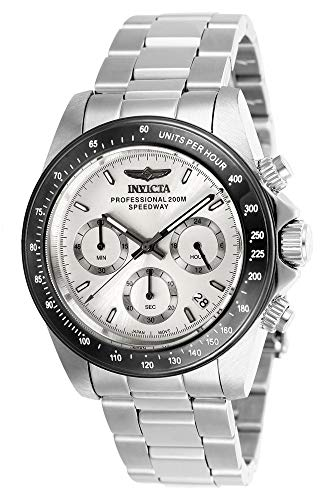 Invicta 26111 Speedway Unisex Wrist Watch Stainless Steel Quartz Silver Dial
