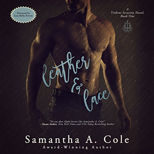 Leather & Lace audiobook cover art