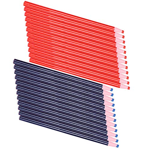 Lápiz de tela de costura, herramientas de seguimiento de marcado de sastre para cortar sin límites claros, fácil de operar, respetuoso con el medio ambiente para marcar