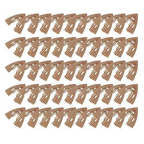 Best Deals! Carbide Triangle Rasp Oscillating Tool Quick Release Compatible (50pcs)