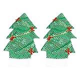 UPKOCH 2 Pezzi di Copertura per Bottiglia di Vino di Natale Copertura per Bottiglia di Albero di Natale Bottiglia di Champagne Avvolgere Tavolo Oggetti Decorativi per la Cena Cena per Banchetto Festa