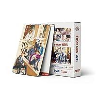 54個/セットKpopStrayKids2021フォトカードアルバムフォトアルバムカードファンコレクションLOMOカード到着