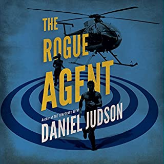 The Rogue Agent audiobook cover art