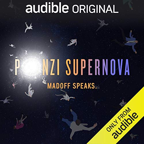 Ponzi Supernova audiobook cover art