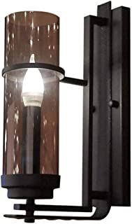 Classic Style Wall Light Wall Candle Holder with Glass Shade E14 Wall lamp Unique Design for Bedroom Living Room Country H...