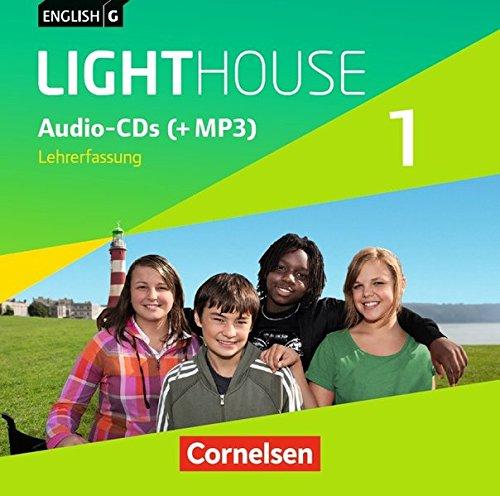English G LIGHTHOUSE - Allgemeine Ausgabe: Band 1: 5. Schuljahr - Audio-CD: Audio-Dateien auch als MP3